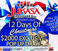 12 Days of Christmas Exclusive POP UP Draw