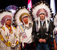 Prime Minister, National Chief given honour by Treaty 7 nations