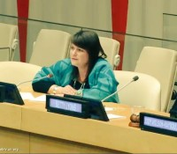 Native Women's Association of Canada speak at UN