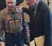 Onondaga Nation meets with US Candidate Bernie Sanders