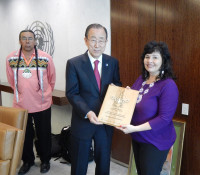 Haudenosaunee Confederacy defends environment at UN