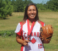 Six Nations softball champion returns after bronze medal win