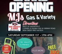 MJ's Gas & Variety Grand Opening