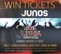 WIN TICKETS TO THE JUNOS