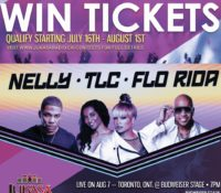 WIN TICKETS TO SEE NELLY, TLC, AND FLO RIDA IN TORONTO