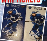 Congratulations to Leese Marie! You won Toronto Maple Leafs Tickets